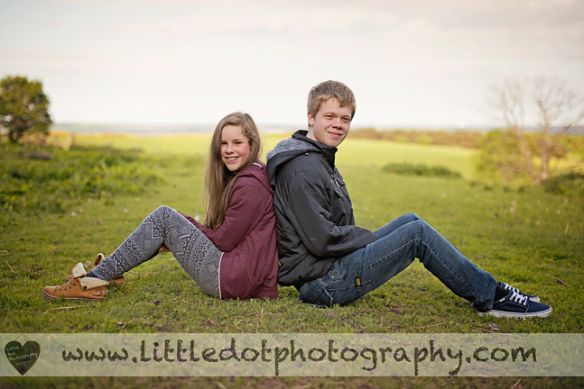Brother and sister photograph