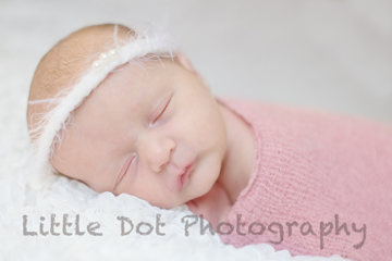 newborn headband and wrap