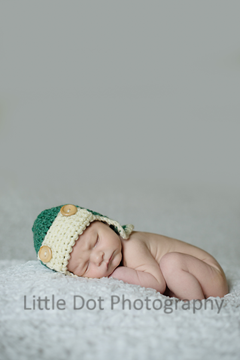 Baby in aviator hat