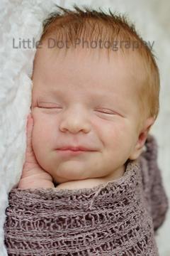 newborn smile